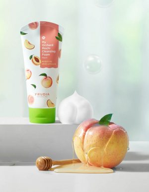 Frudia Mochi Cleansing Foam Peach