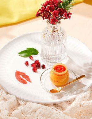 Pomegranate Lip Balm -granaattiomena-huulivoide