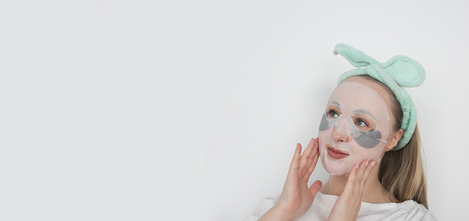 Sheet mask tuoteosasto -kangasnaamiot