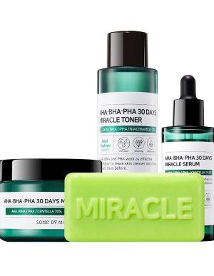 AHA Miracle Starter Kit neljä tuotetta