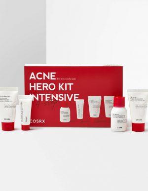 COSRX Acne Hero Kit Intensive -tuotteet rasvoittuvalle iholle