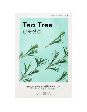 Missha Airy Fit Sheet Mask Tea tree -teepuunaamio