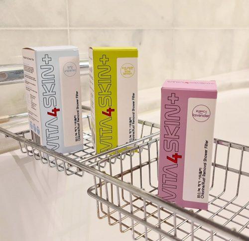 Suihkufiltterit Aura Vita4Skin+ Bearel