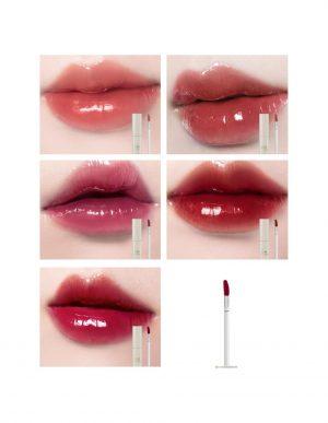BBIA Glow Lip Tint -huulivärit huulilla