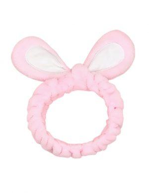 Fluffy Hair Band Pink -hiuspanta