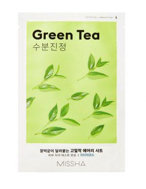 Missha Airy Fit Sheet Mask naamio Green Tea