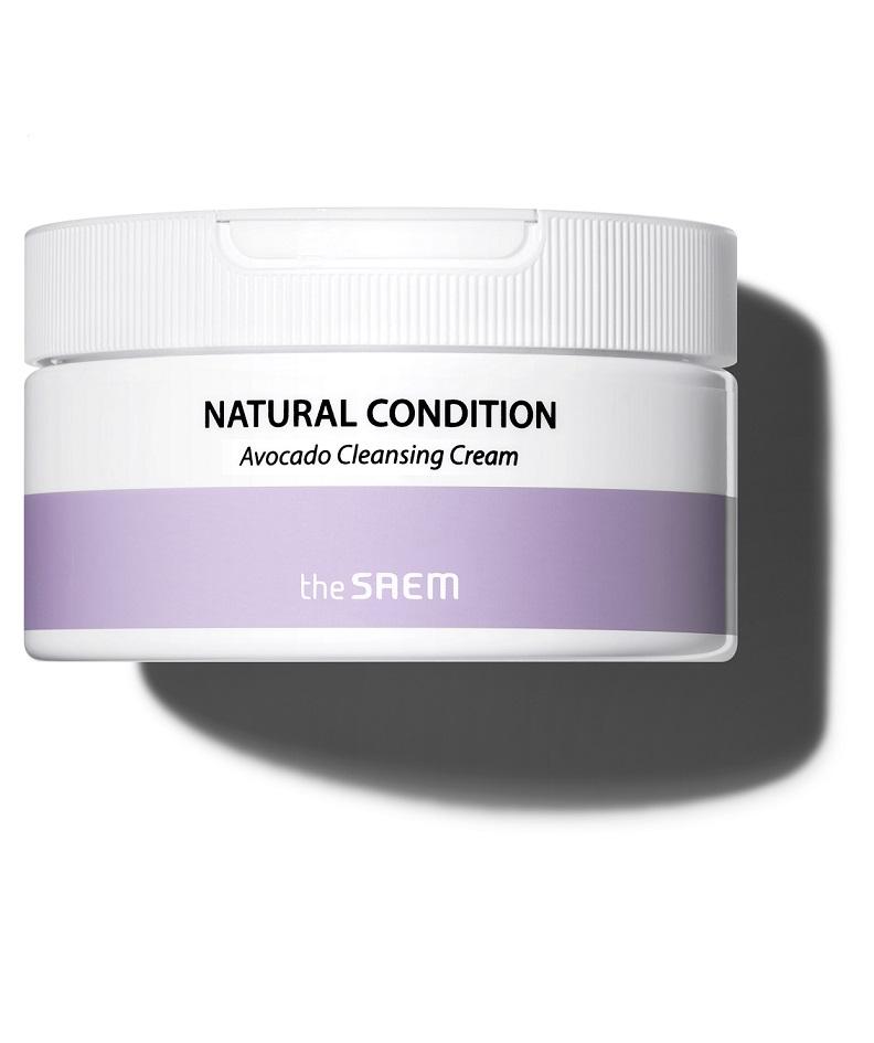 The Saem Natural Condition Avocado Cleansing Cream
