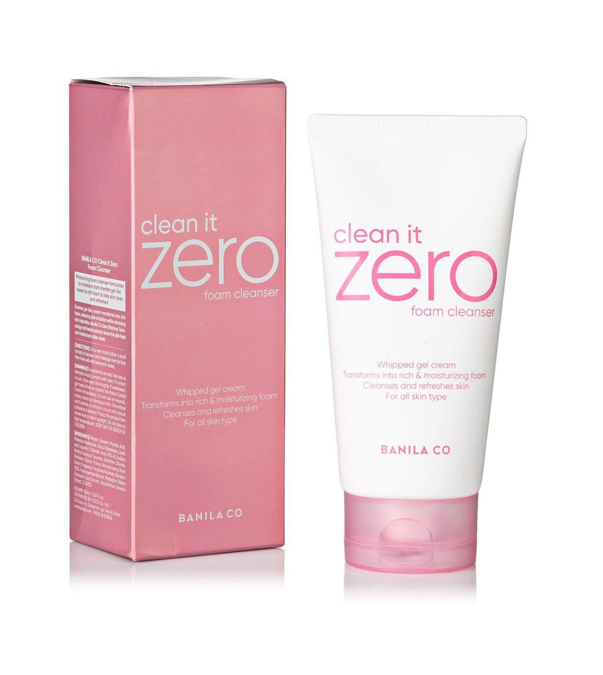 Banila CO Clean It Zero Foam Cleanser -puhdistusvaahto kasvoille